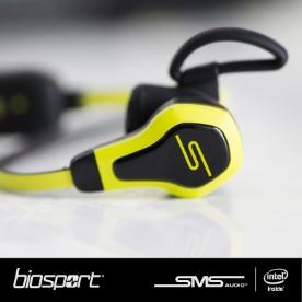 BioSport-Kopfhörer mit Fitnesstracker-Funktionen (Bild: Intel)