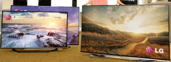 """4K Ultra HD""-Fernseher von LG Electronics (Bild: LGE)"
