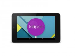 Nexus 7 mit Android 5.0.2 Lollipop (Bild: Google)