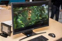 CES: Samsung stellt All-in-One-PC mit gekrümmtem Monitor vor