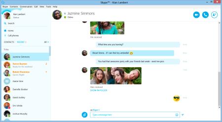 Skype 7.0 mit Lync-Integration (Bild: Microsoft)