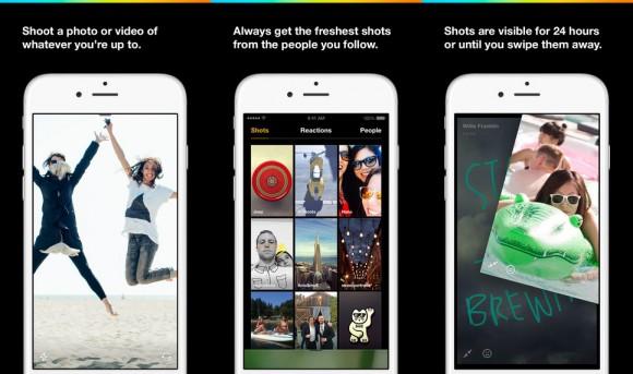 Facebook hat die Slingshot-App von Grund auf überarbeitet (Bild: Facebook).
