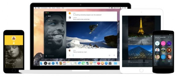 Wire liegt aktuell für Android, iOS und OS X vor (Bild: Wire).