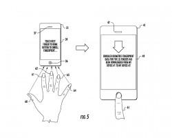 Fingerabdruck-Synchronisierungssystem (Bild: Apple, via USPTO)