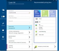 """Die """"G-series""""-VMs sind die größtmöglichen Virtuellen Maschinen auf Azure (Bild: Microsoft)."""