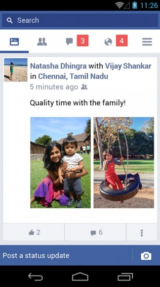 Facebook Lite (Screenshot: Facebook, via Google Play)