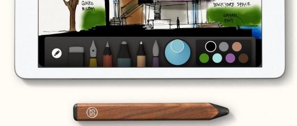 "iPad-Stift mit rückseitigem ""Radiergummi"" (Bild: Fiftythree)"