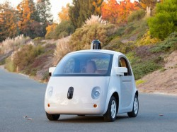 Prototyp von Googles selbstlenkenden Auto (Bild: Google)
