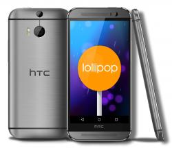 HTC hat mit der Verteilung von Android 5.0 Lollipop für das One (M8) begonnen (Bildmontage: ZDNet.de).