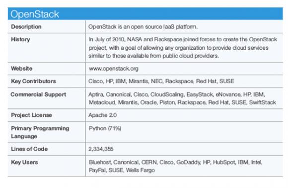 Beispieleintrag aus dem neuen Cloud-Leitfaden der Linux Foundation (Screenshot: ZDNet.com)
