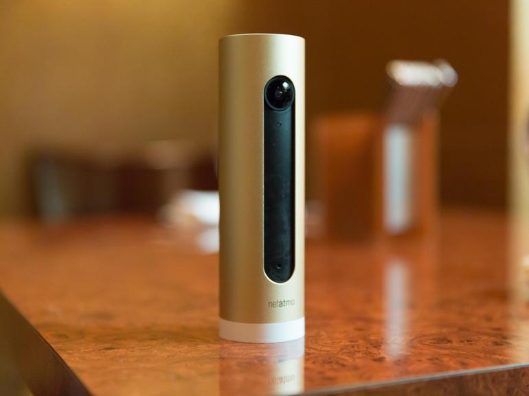 ces netatmo stellt kamera mit gesichtserkennung vor. Black Bedroom Furniture Sets. Home Design Ideas