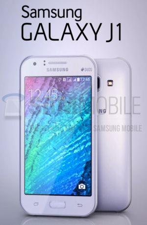 """Beim Galaxy J1 handelt es sich offenbar um ein neues Einsteiger-Smartphone von Samsung (Bild <a href=""""http://www.sammobile.com/2015/01/12/exclusive-here-are-the-first-images-of-the-samsung-galaxy-j1-sm-j100/"""" target=""""_blank"""">via Sammobile</a>)."""