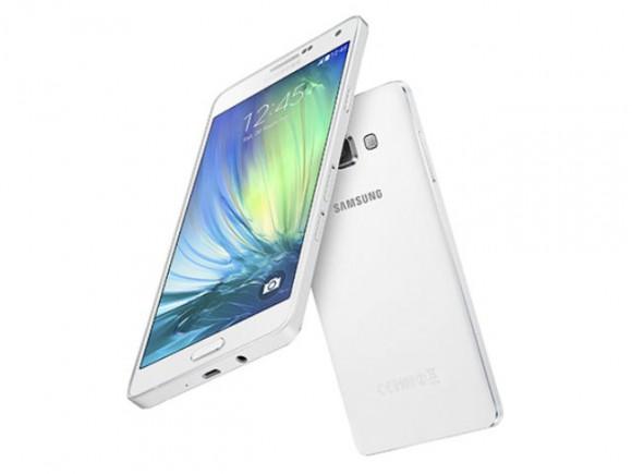 Das Galaxy A7 ist nur 6,3 Millimeter dick (Bild: Samsung).