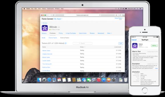 Apple schaltet die alte TestFlight-Version zum 26. Februar ab (Bild: Apple).