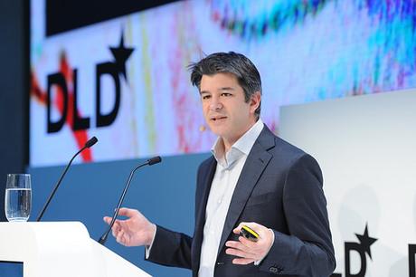 Uber-CEO Travis Kalanick auf der Konferenz DLD15 in München (Bild: DLD).