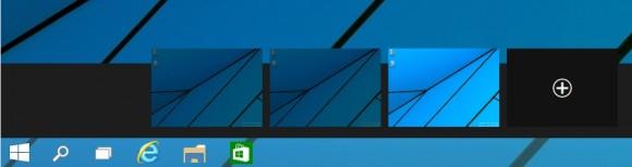 Windows 10 bietet virtuelle Desktops, die ohne Zusatztools nutzbar sind (Screenshot: Thomas Joos).