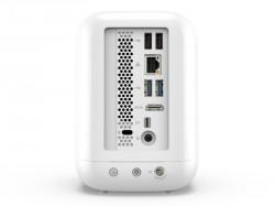 Der Mini-PC bietet zahlreiche Schnittstellen (Bild: Acer).