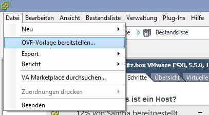 Im Windows-VMware-Client können Administratoren vorgefertigte VMs importieren lassen (Screenshot: Thomas Joos).