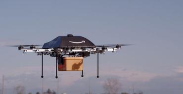 Lieferdrohne von Amazon (Bild: Amazon)