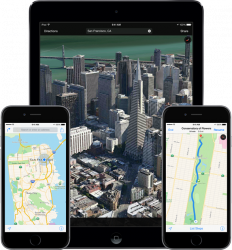 Apple Maps (Bild: Apple)