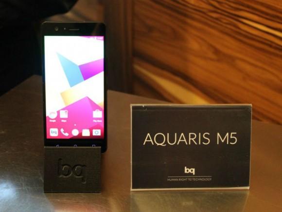 Das M5 ist eins von drei Modellen aus der neuen Aquaris-M-Reihe (BQ).