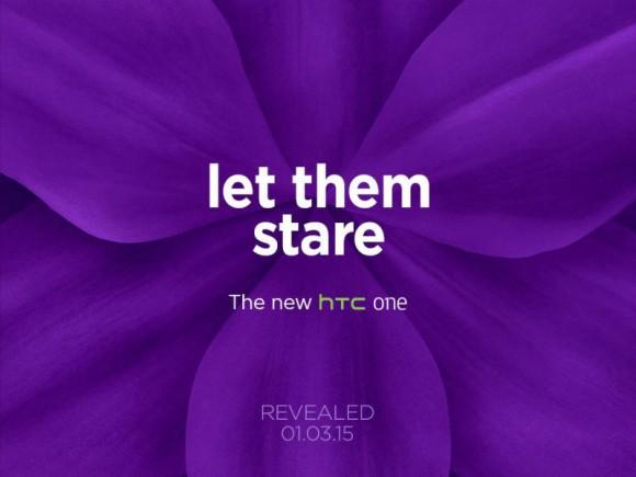 Ankündigung zur Vorstellung des neuen HTC One am 1. März in Barcelona (Bild: HTC)