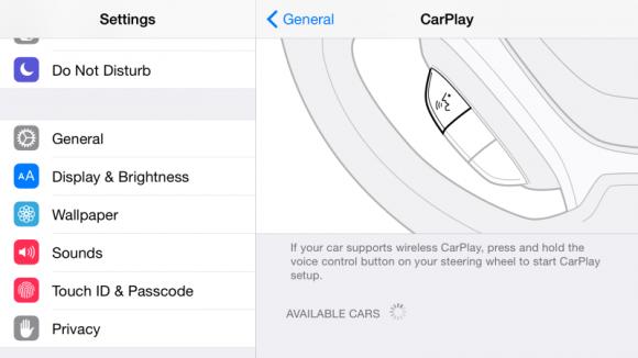"""iOS 8.3 bringt unter anderem Unterstützung für eine Drahtlosverbindung zu CarPlay (Bild Mit iOS 8.3 hat Apple auch die Emoji-Auswahl überarbietet (Bild <a href=""""http://9to5mac.com/2015/02/09/ios-8-3-brings-wireless-carplay-to-the-iphone/"""" target=""""_blank"""">via 9to5Mac</a>)."""