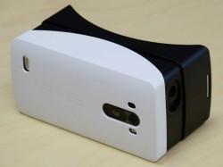 Das G3 wird in das Headset eingeschoben, um ihm als Display zu dienen (Bild: LG).