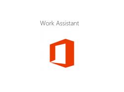 Microsoft Work Assistant (Bild: Microsoft).