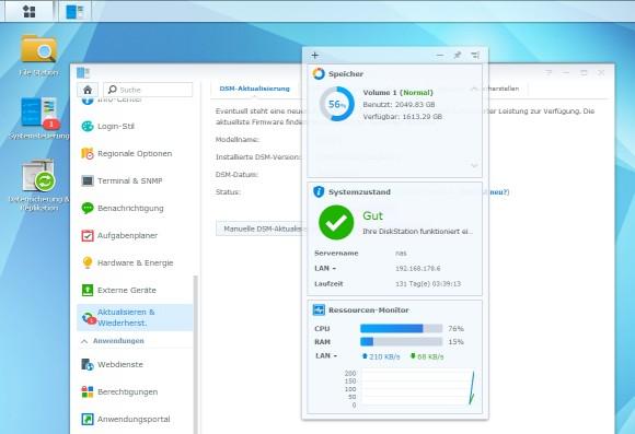 Dateiserver mit Windows Server 2003 lassen sich durchaus auch zu NAS-Systemen migrieren. Diese bieten teilweise sogar mehr Möglichkeiten, als die betagte Serverversion (Screenshot: Thomas Joos).