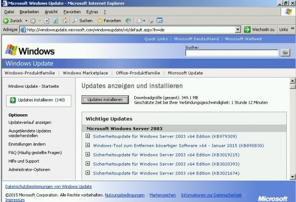 Die Windows-Update-Funktion findet einige Aktualisierungen, die dringend installiert werden sollten (Screenshot: Thomas Joos).