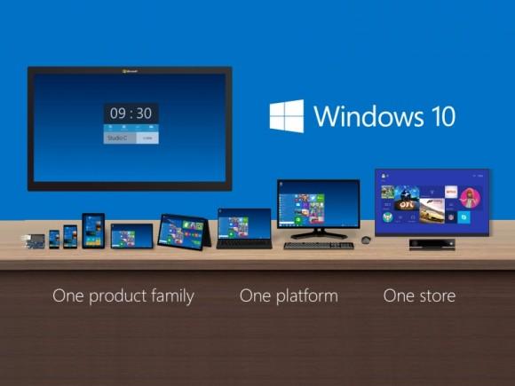 Windows 10 (Bild: Microsoft)
