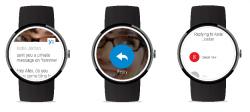 Yammer unter Android Wear (Bild:  Microsoft)