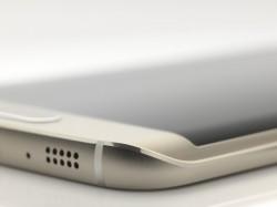 Das Samsung Galaxy S6 Edge lässt sich drahtlos laden (Bild: Samsung).