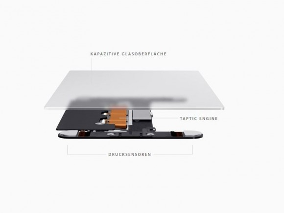 Apple MacBook Pro Retina 13 Zoll Force Touch (Bild: Apple)
