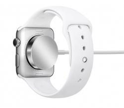 Apple Watch mit Ladegerät (Bild: Apple)