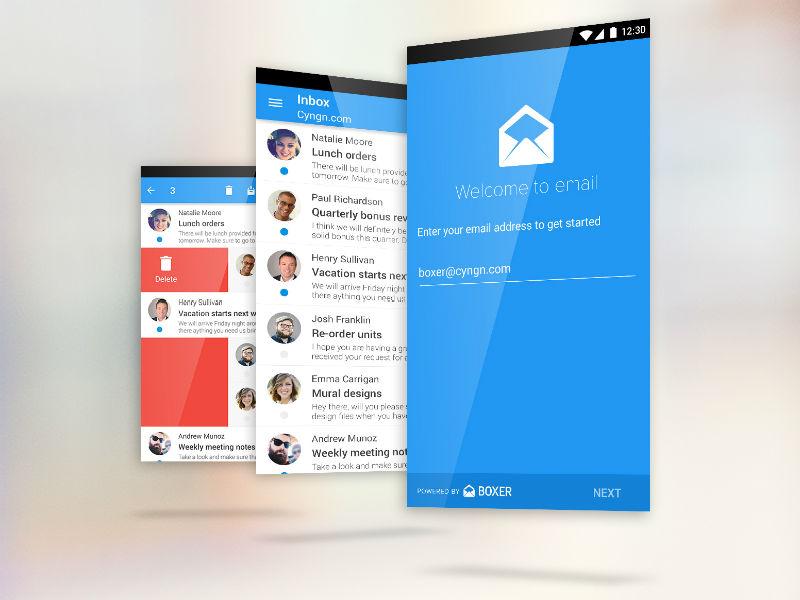 Cyanogen OS 12 bringt eigene E-Mail-App mit