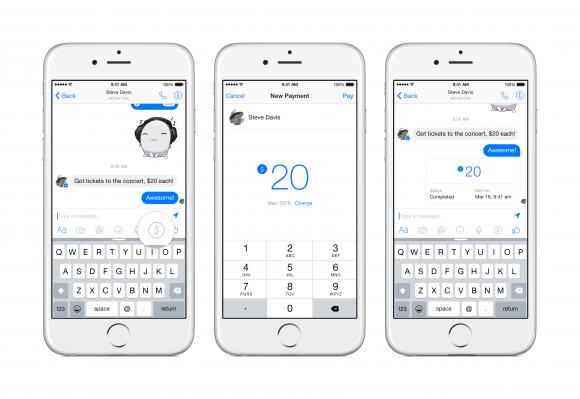 Facebooks mobiler Bezahldienst startet in den kommenden Monaten in den USA (Bild: Facebook).