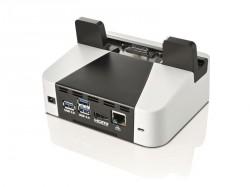 Fujitsu bietet für das Stylistic V535 auch eine Dockingstation an (Bild: Fujitsu).