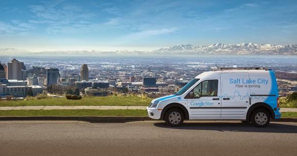 Google verlegt Glasfaser in Salt Lake City (Bild: Google)