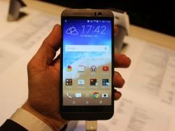 Das HTC One M9 erscheint im April für 749 Euro (Bild: CNET.de).