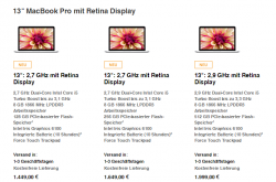 Apple MacBook Pro mit 13-Zoll-Retina-Display (Screenshot: ZDNet)