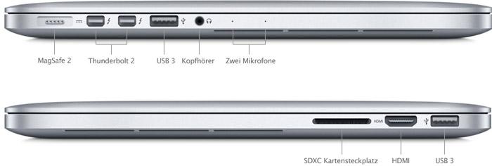 Im test macbook pro retina 13 zoll 2015 - Macbook pro 15 retina ports ...