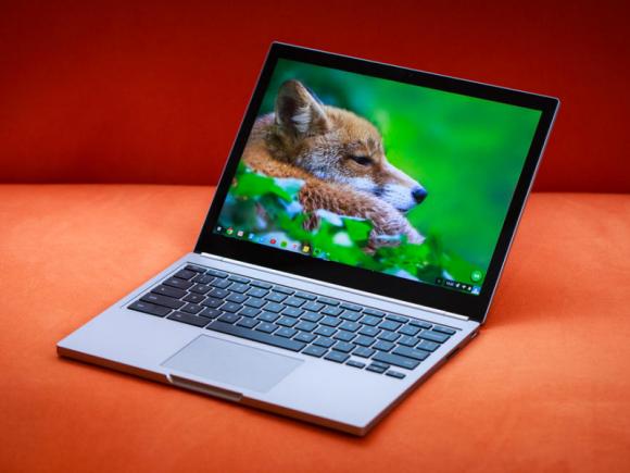 Das neue Chromebook Pixel nutzt dasselbe Display und Design wie der Vorgänger aus dem Jahr 2013 (Bild: Josh Miller/CNET).