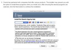 Oracles Adware-Partnerschaft mit Ask erstreckt sich jetzt auch auf Macs (Screenshot: ZDNet.com)