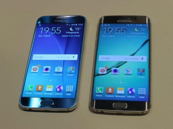 Galaxy S6 und S6 Edge kommen in einem neuen Design mit einem Materialmix aus Metall und Glas (Bild: CNET.de).