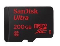 MWC: Sandisk zeigt MicroSD-Karte mit 200 GByte