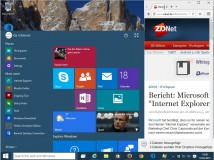 Windows 10 Build 10074 bringt Aero Glass zurück