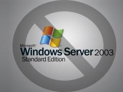 Windows Server 2003 Stop (Bild: ZDNet.de)