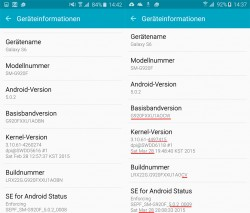 Firmware-Update für Galaxy S6 und S6 Edge (Screenshot: ZDNet.de)